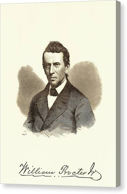 Junior College Canvas Print - William Proctor by Chemical Heritage Foundation