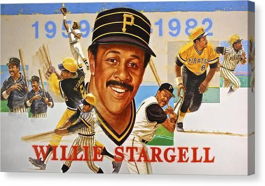 Willie Stargell Canvas Print
