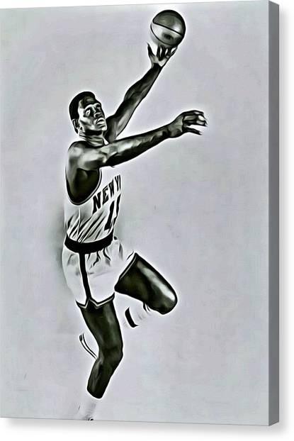 New York Knicks Canvas Print - Willis Reed by Florian Rodarte