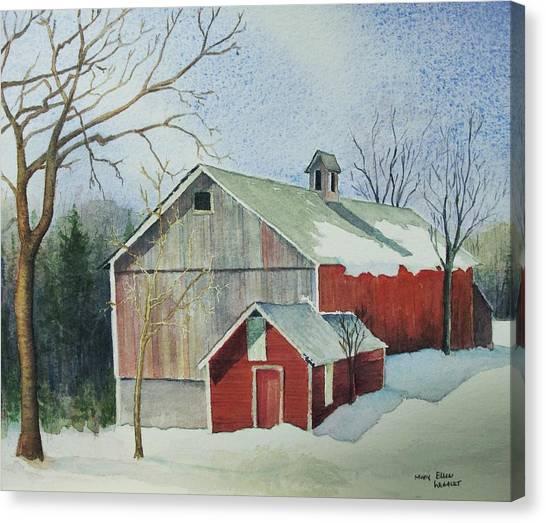 Williston Barn Canvas Print