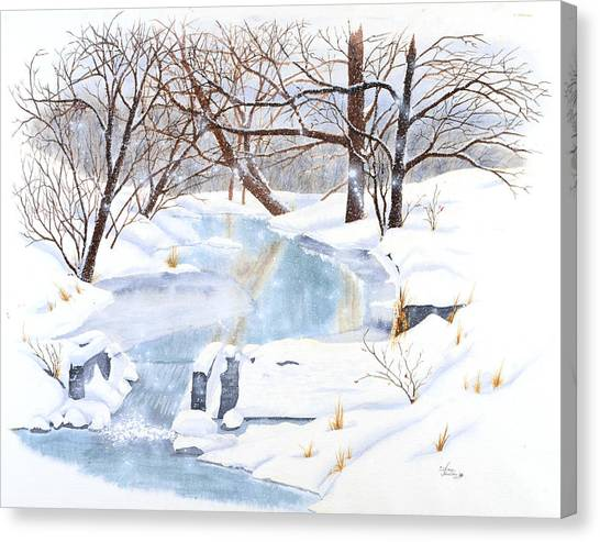Willowood Winter Canvas Print