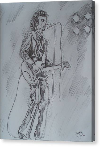 Willy Deville - Steady Drivin' Man Canvas Print