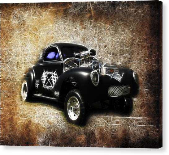 Canvas Print - Willys Coupe by Steve McKinzie