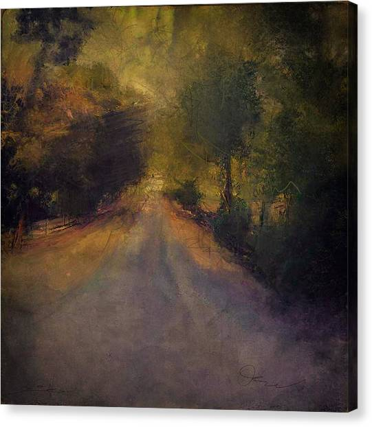Wilsonville Road Canvas Print by W i L L Alexander