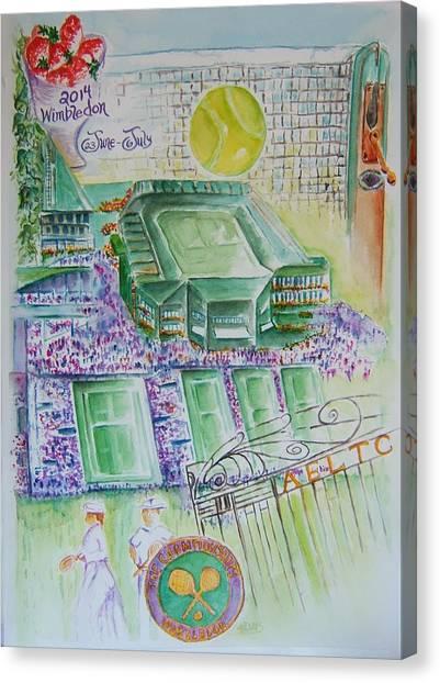 Wimbledon 2014 Canvas Print