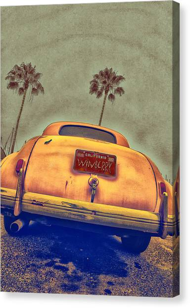 Winberry Car Canvas Print