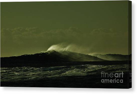Wind And Waves Canvas Print