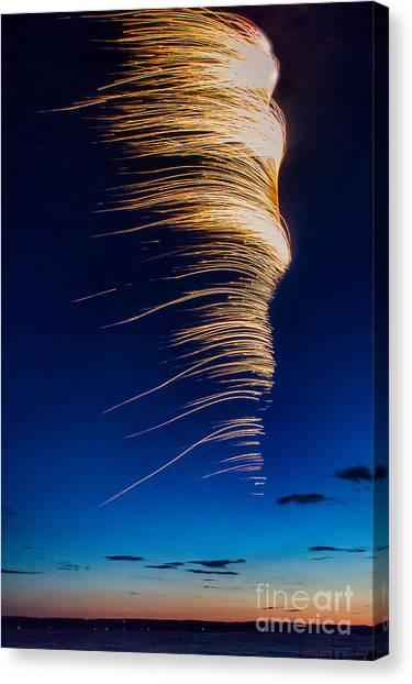 Wind As Light Canvas Print