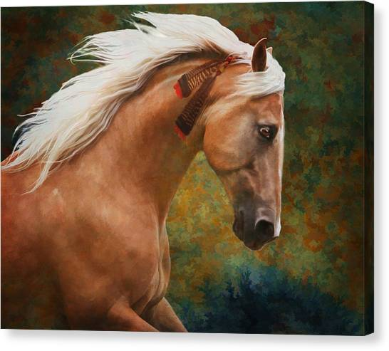Canvas Print featuring the photograph Wind Chaser by Melinda Hughes-Berland