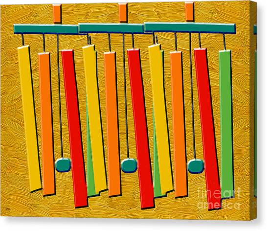 Wind Chimes Canvas Print - Wind Chimes by Patrick J Murphy