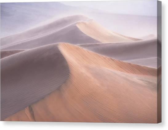 Sand Dunes Canvas Print - Wind by Inigo Cia