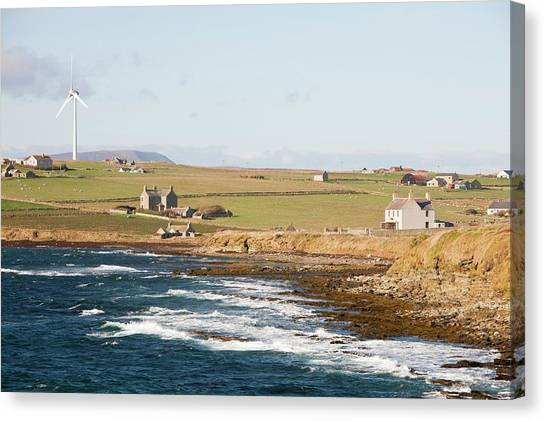 Climate Change Canvas Print - Wind Power by Ashley Cooper