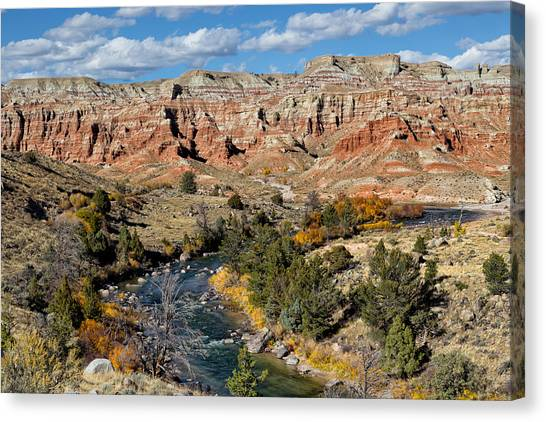 Bishop Hill Canvas Print - Wind River Country by Kathleen Bishop