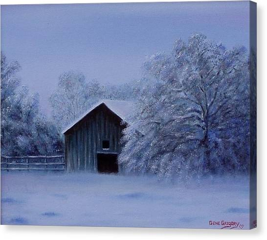 Windberg Barn Canvas Print