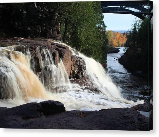 Winding Falls Canvas Print