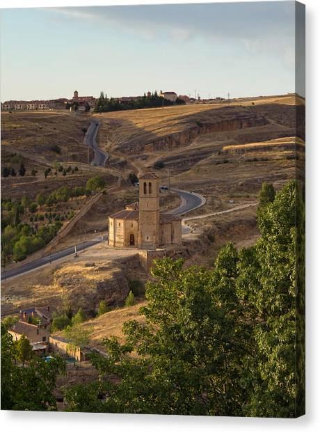 Winding Segovia Roads Canvas Print by Viacheslav Savitskiy