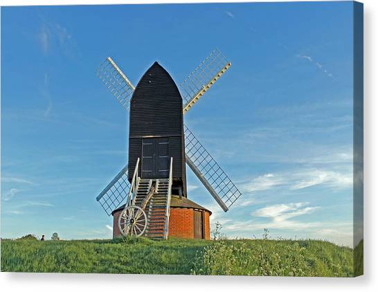 Windmill At Brill Canvas Print