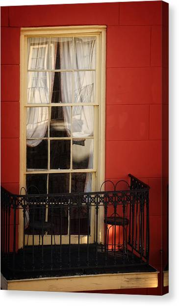 Window Access Canvas Print