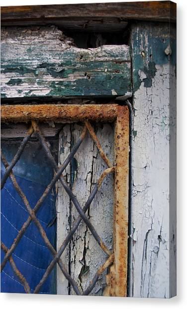 Window Corner Canvas Print by Gretchen Lally