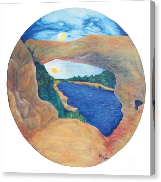 Window Of Heaven Canvas Print