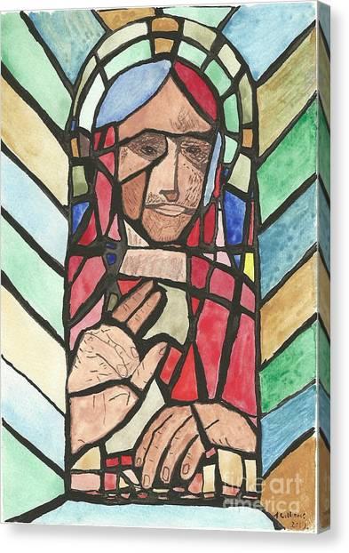 Window Of Peace Canvas Print