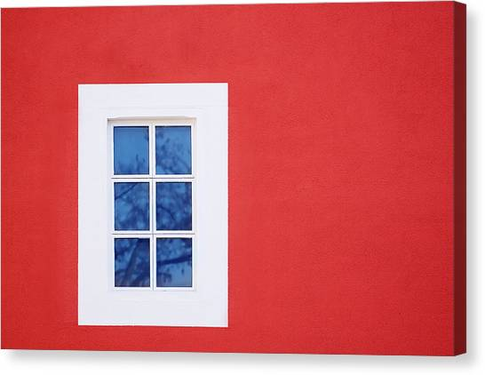 Window Piece Canvas Print