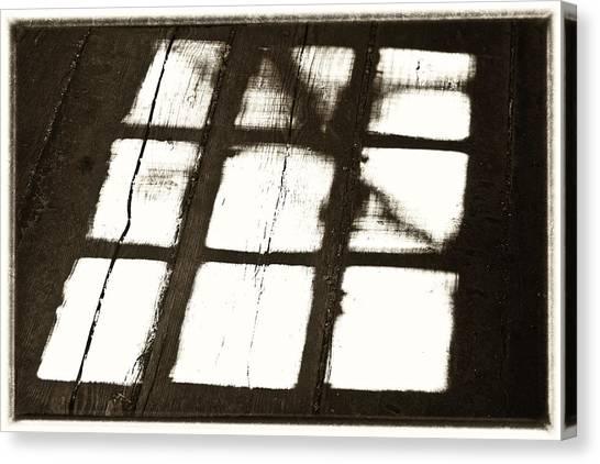 Window Shadow Canvas Print by Craig Brown