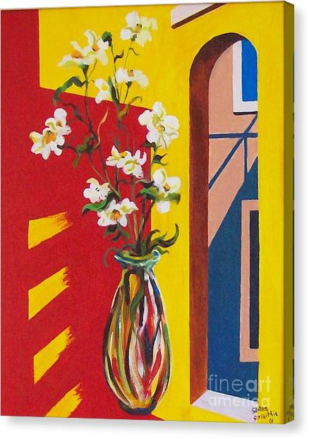 Window Canvas Print by Sinisa Saratlic