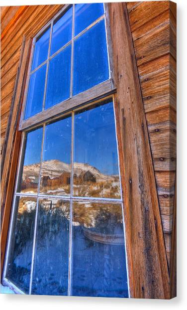 Window To Bodie Canvas Print