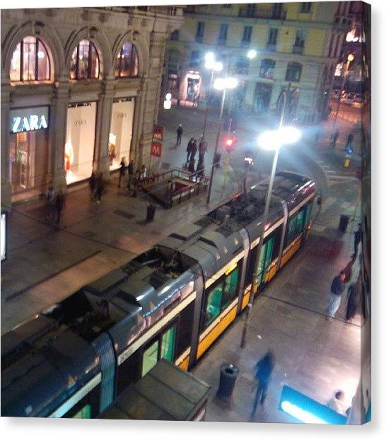 Metropolis Canvas Print - Window View #milano #milan #italy by Andrea Zampedroni