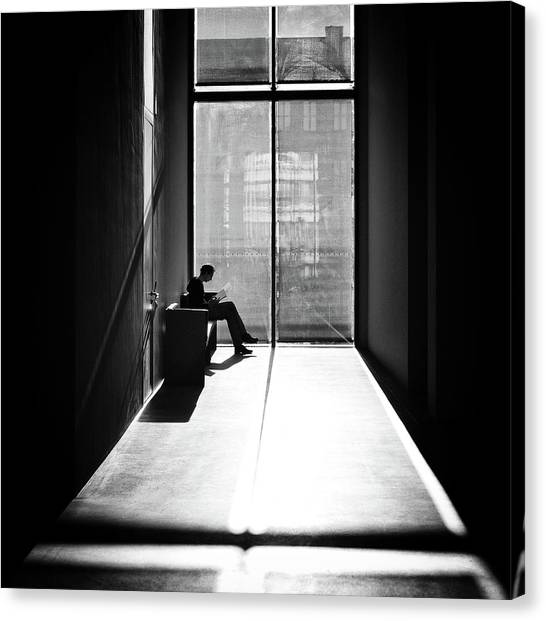Windowlight Canvas Print by Michael M.