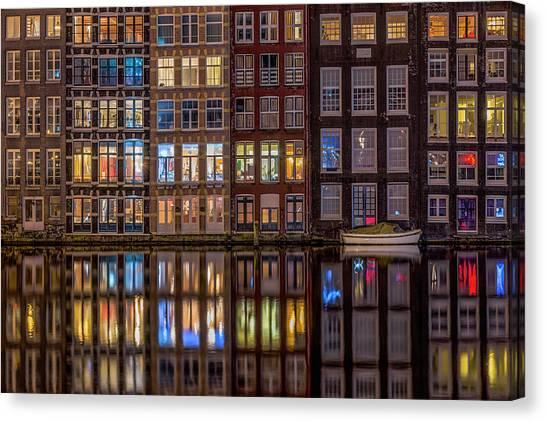 Windows Browser Canvas Print by Peter Bijsterveld