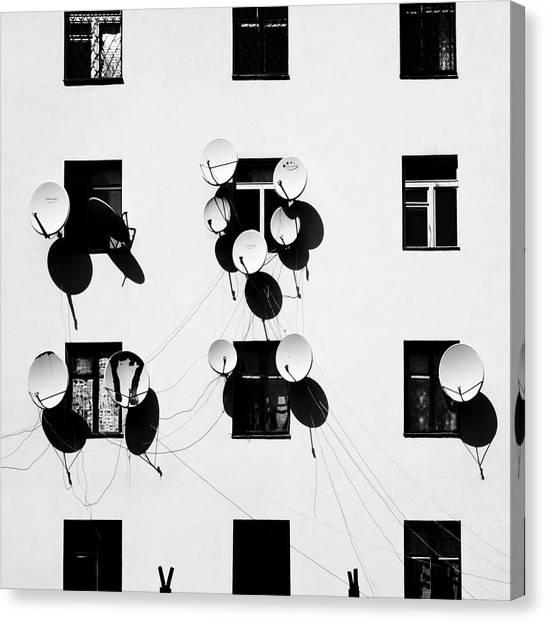 Windows Canvas Print by Marina Yushina