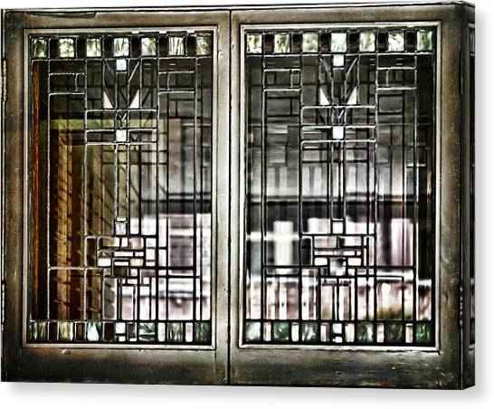 Windows Of A Prairie House  Canvas Print