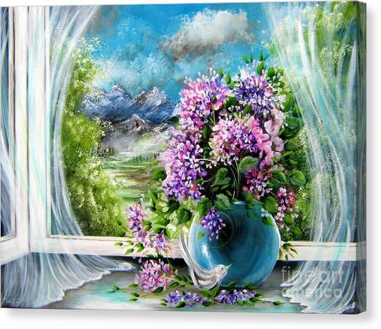 Windows Of My World Canvas Print