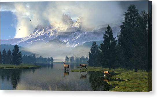 Windows Through The Id Canvas Print