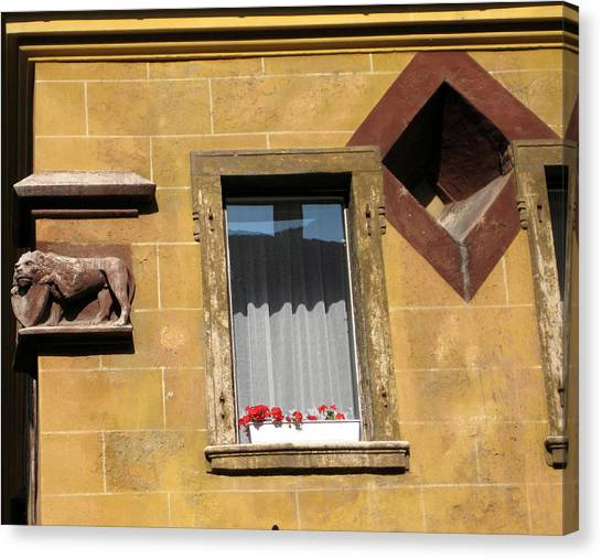 Windows To Budapest Canvas Print