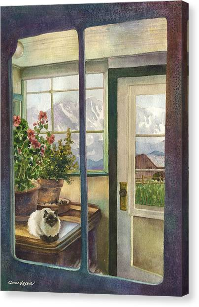 Colorado Canvas Print - Windows To The World by Anne Gifford