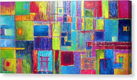 Nsa Canvas Print - Windows Watching You by Jeremy Aiyadurai