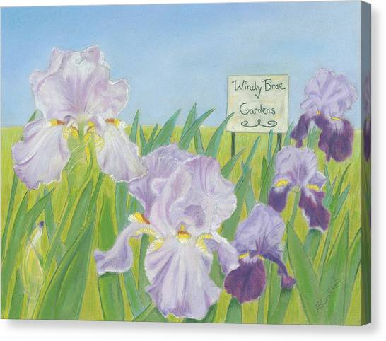 Windy Brae Gardens Canvas Print