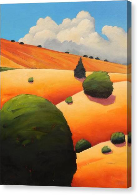 Windy Hill Revisit Panel Two Canvas Print