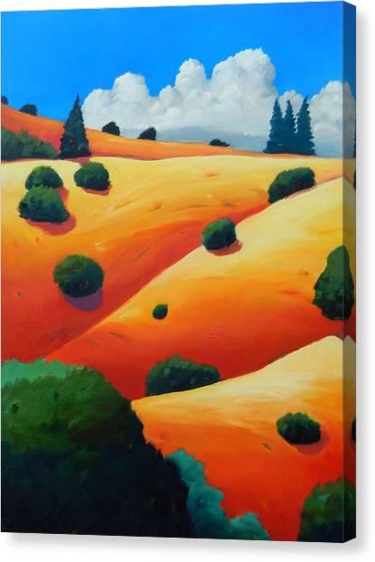 Windy Hill Trip Panel 2 Canvas Print