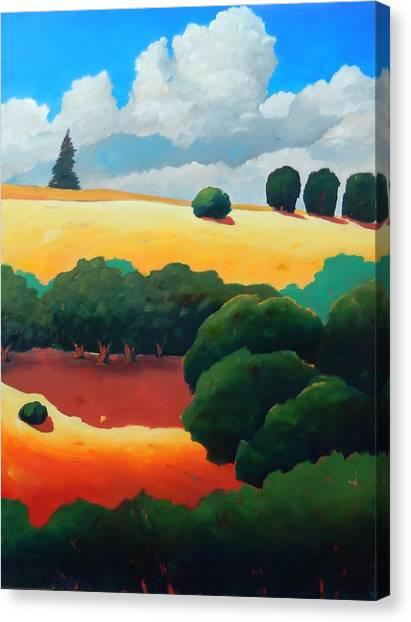 Windy Hill Trip Panel 3 Canvas Print