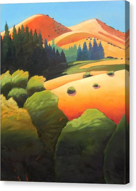Windy Hill Trip. Revisit Panel One Canvas Print