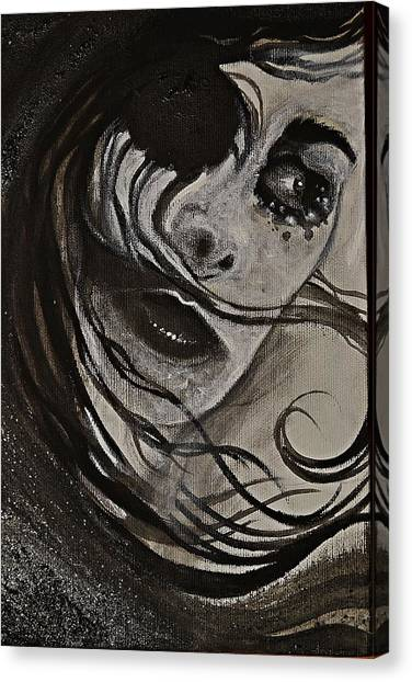 Windyblack Canvas Print