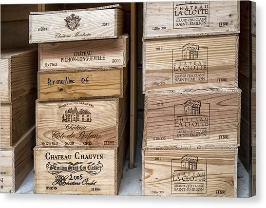 Images For Packaging Canvas Print - Wine Boxes by Georgia Fowler