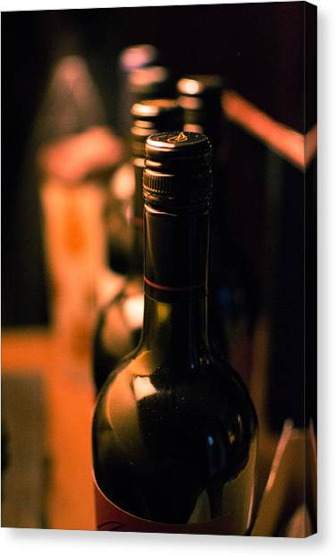 Wine For The Evening Canvas Print