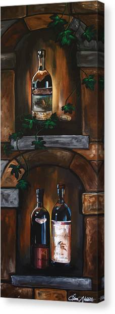 I Need A Glass Of Wine Canvas Print