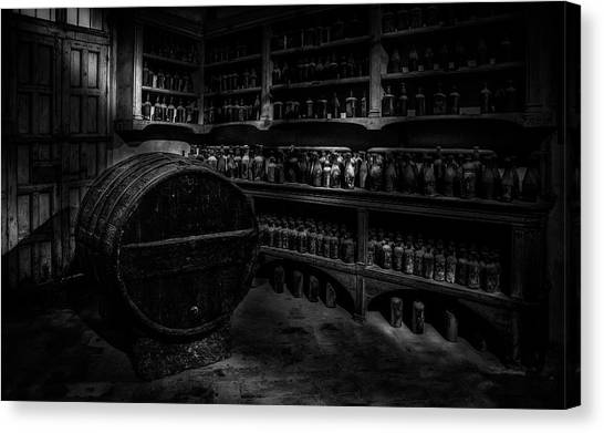 Winery Canvas Print - Winerie by Martin Zalba