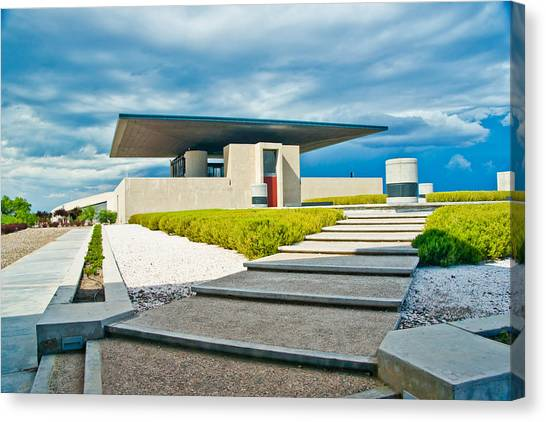 Winery Modernism Canvas Print
